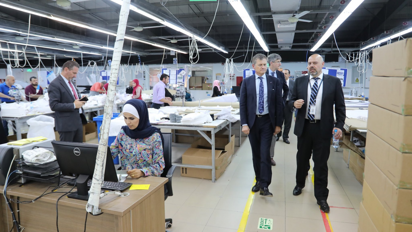 Jordan : Visit to EU-funded employment centres