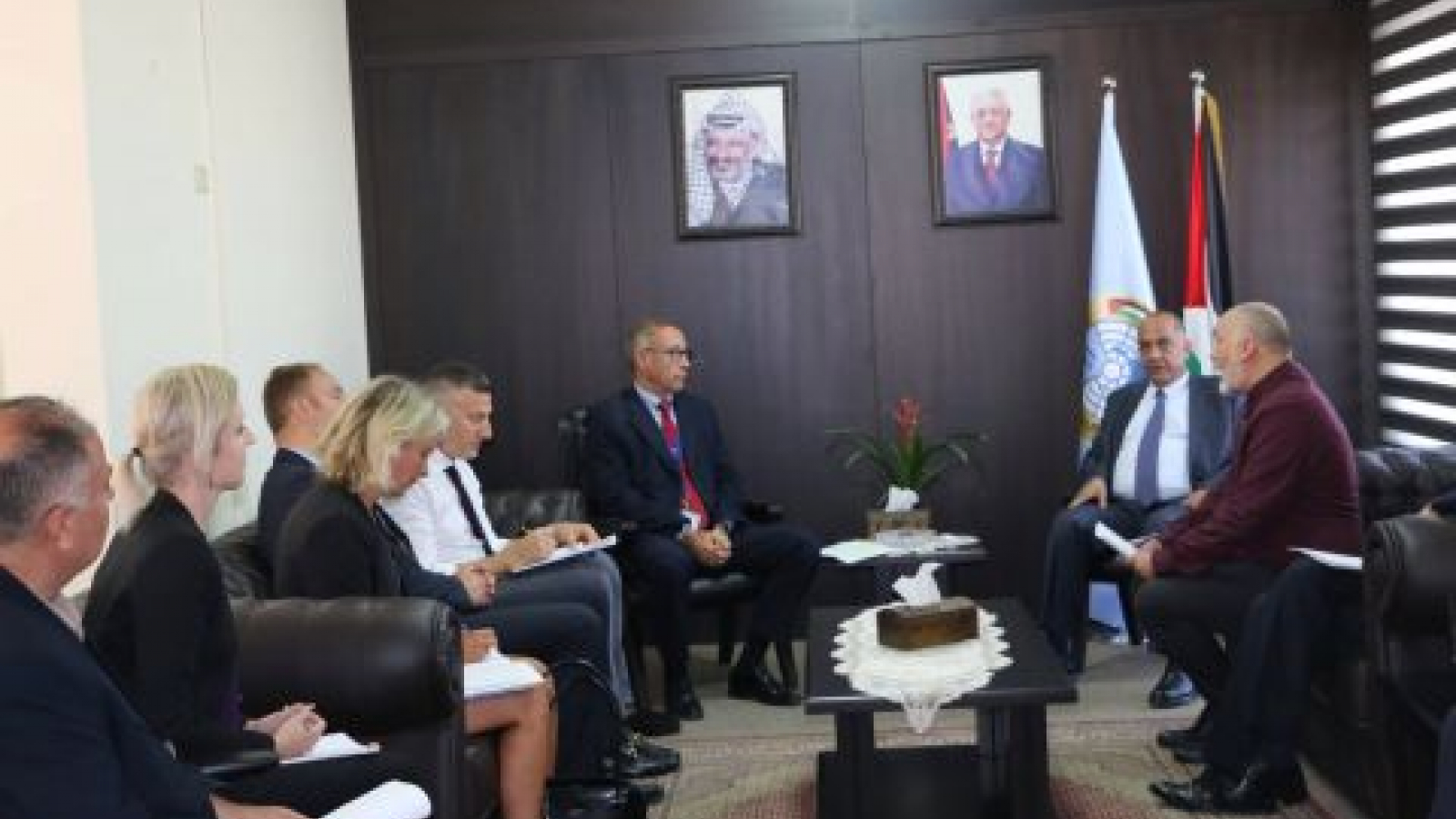 Head of EU Police and Rule of Law Mission meets Palestinian Minister of Justice