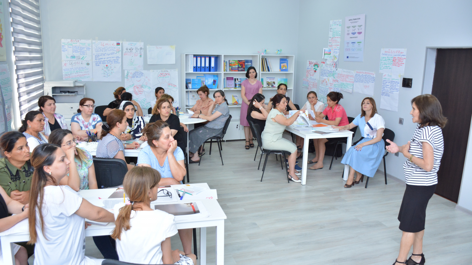 Refresher courses for primary school teachers conducted jointly with the Ministry of Education of Azerbaijan