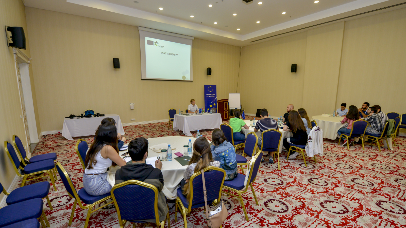 EU4Energy class during EuroSchool in Azerbaijan
