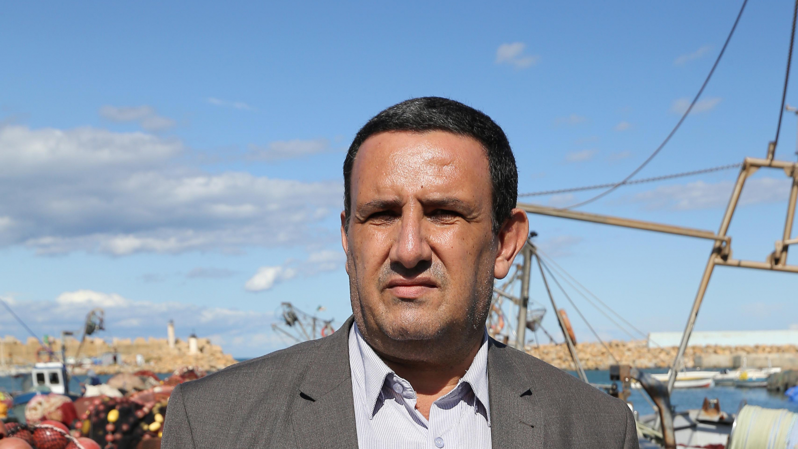 Wahid Salah, director of the Cherchell Fisheries and Aquaculture Technical Training School
