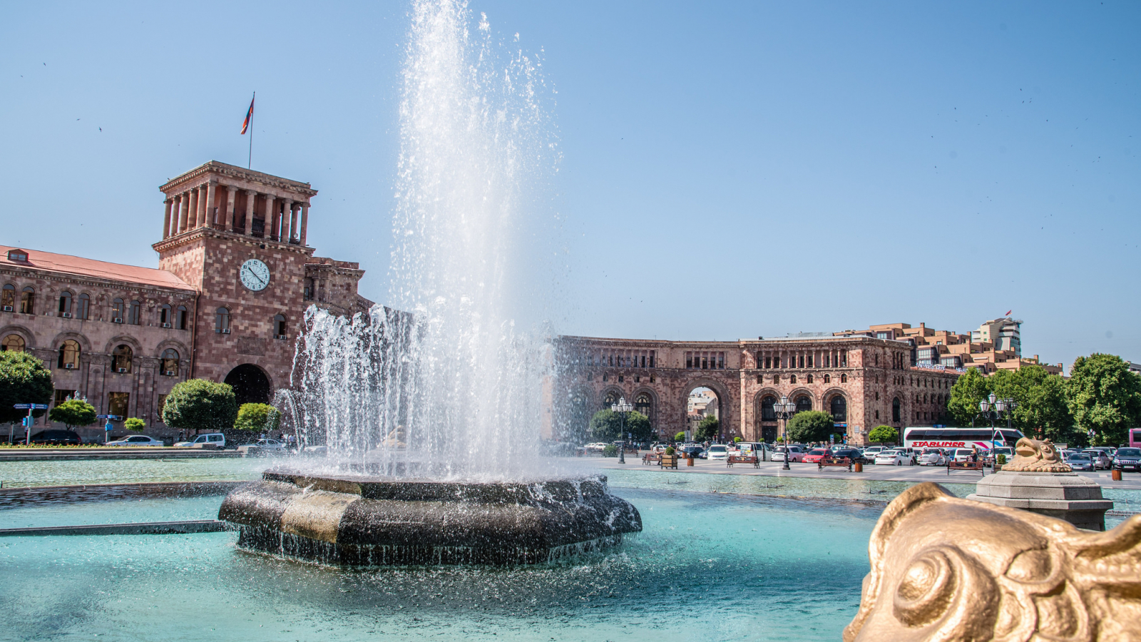 Yerevan, Armenia, central square