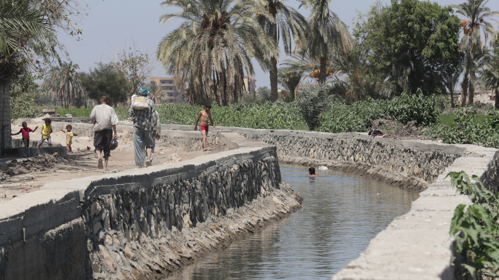 Rehabilitation of Awlad Mohamed canal project in Fayoum