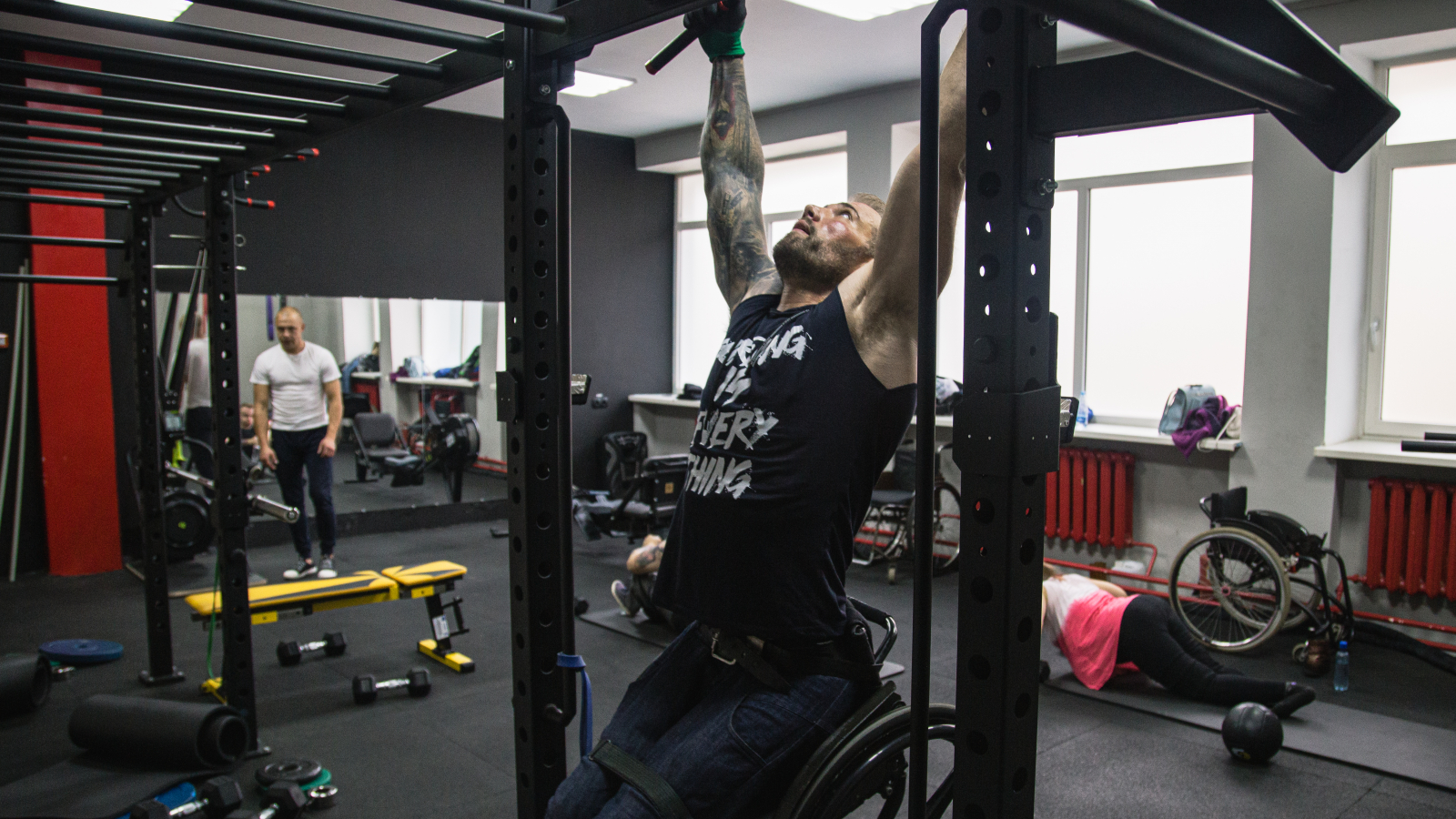 Viktor Zakharyev says that CrossFit is gaining popularity in Lida
