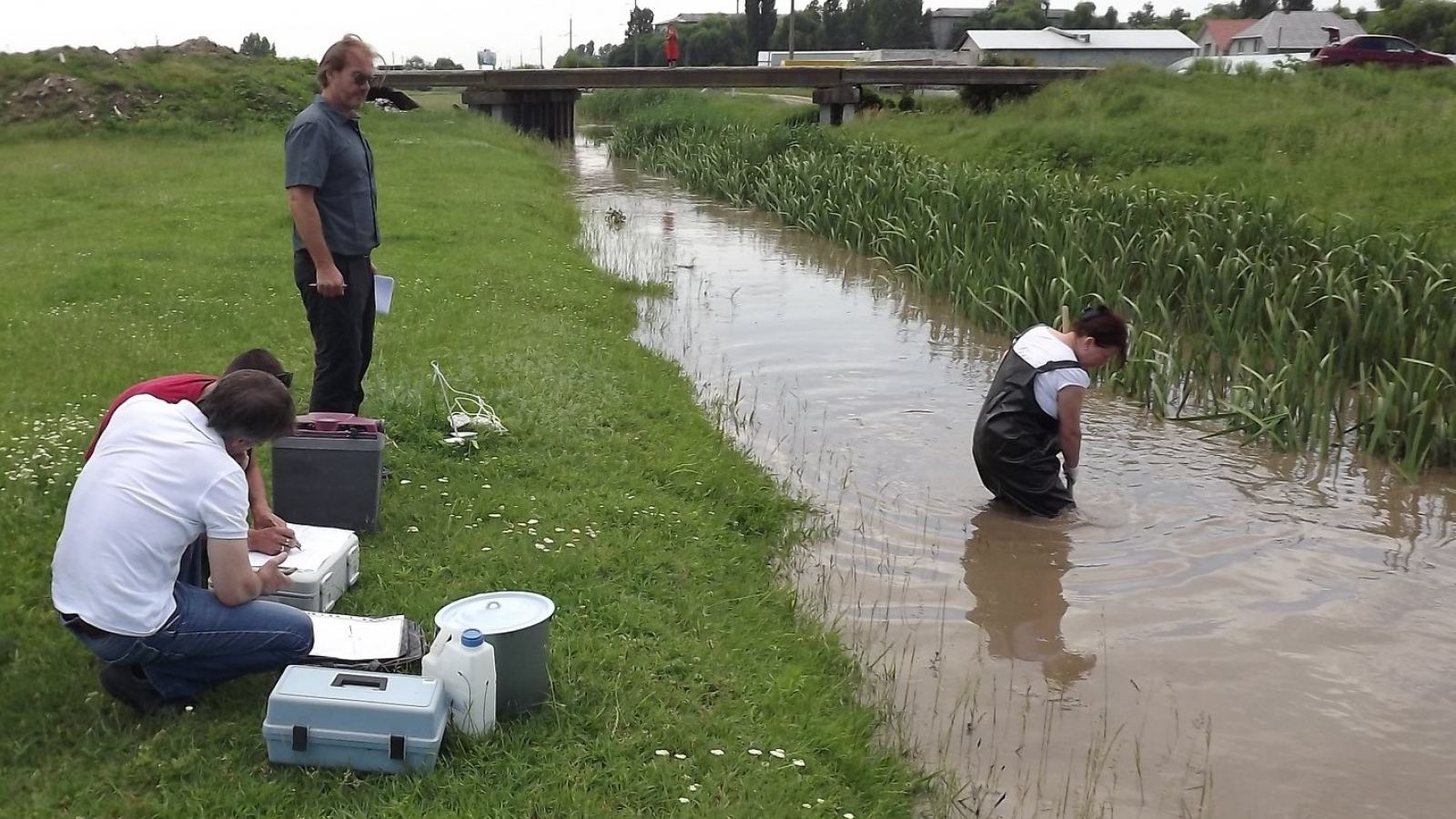 Surface Water field surveys in Moldova