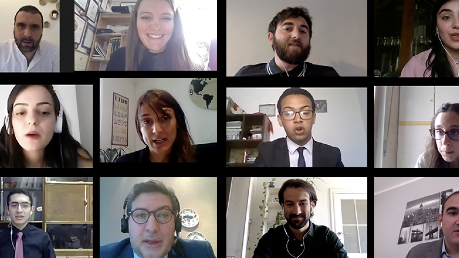 Union for the Mediterranean webinar stressed role of youth volunteers during COVID-19