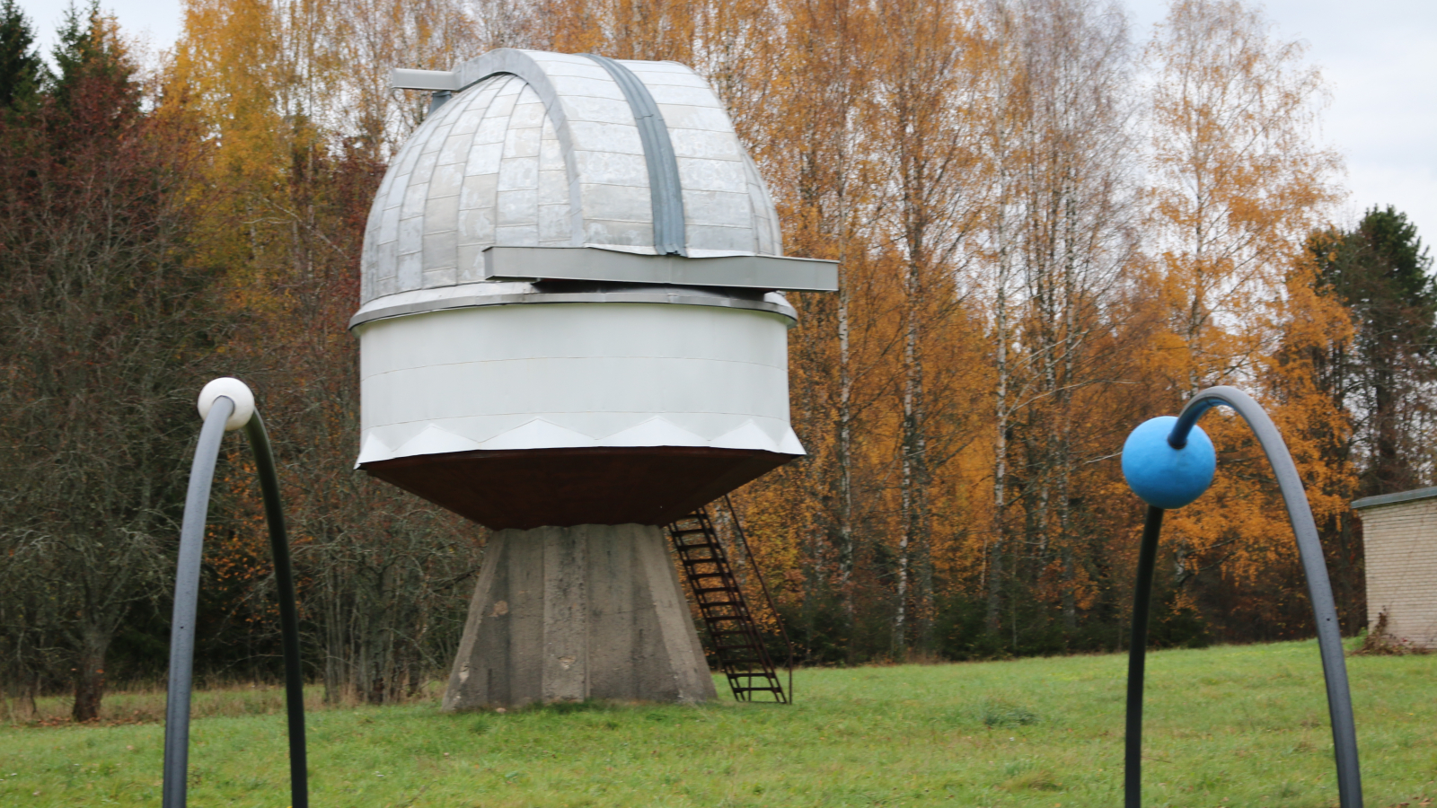 Model of telescope located in Tartu observatory (Estonia)