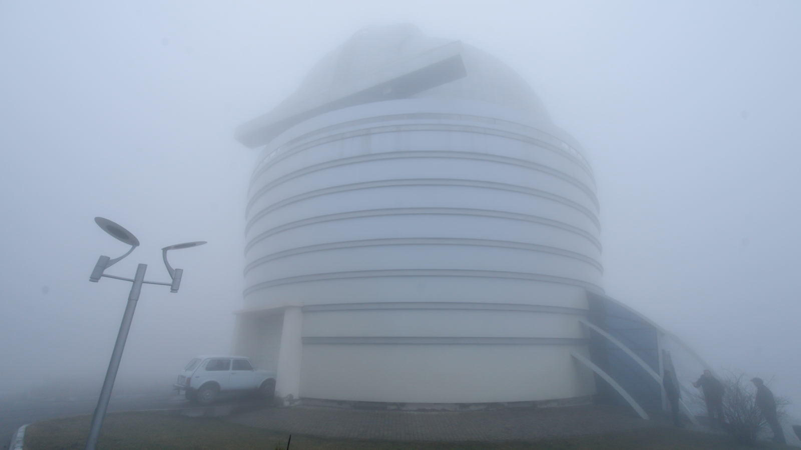 Shamakhi Astrophysical Observatory in Azerbaijan in February 2020