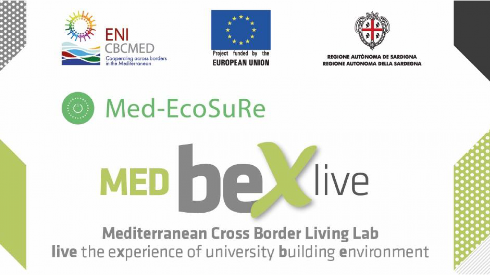 Med-EcoSuRe organises a series of webinars to launch the BeX.LIVE Living Lab