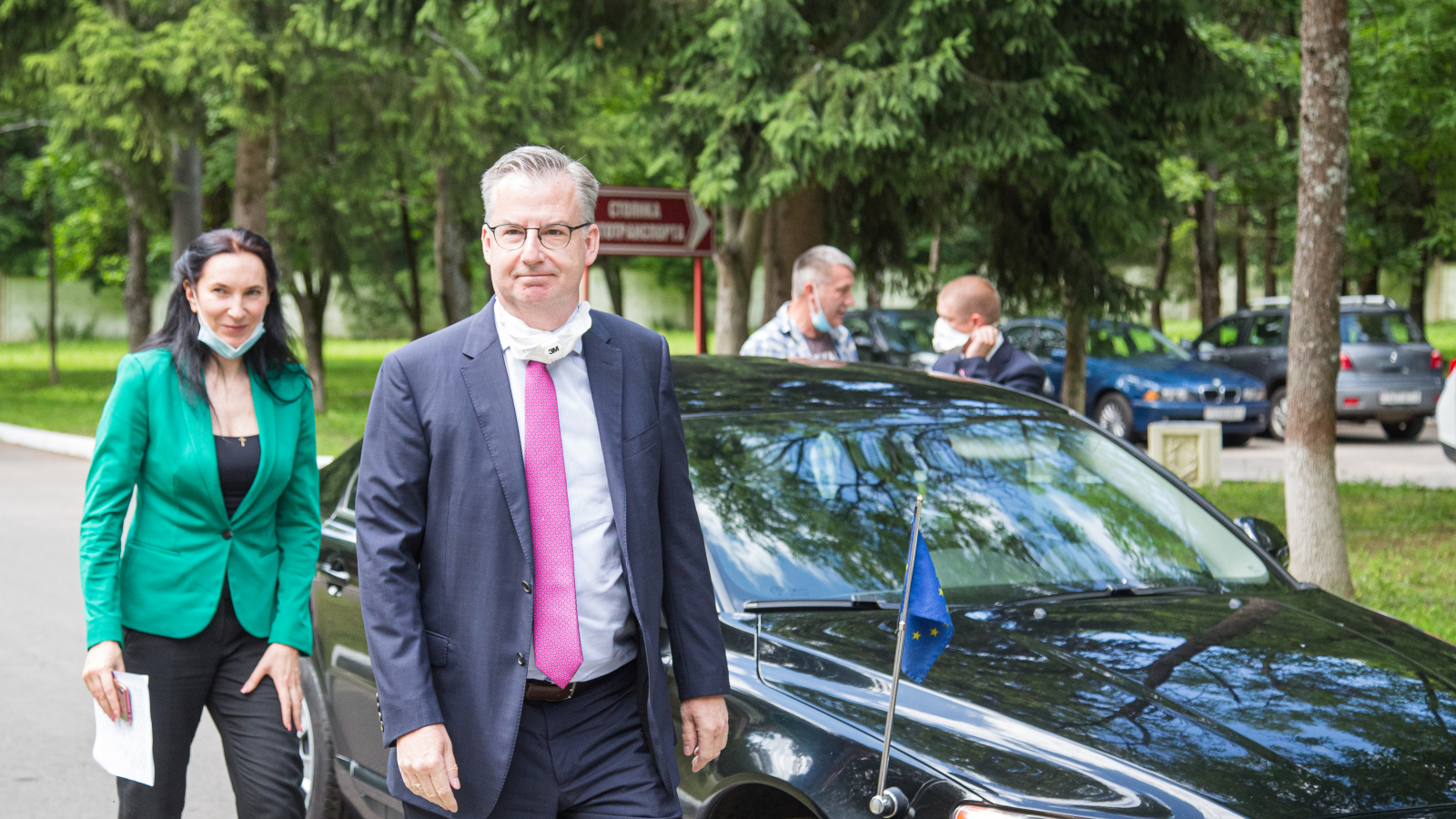 Head of the EU Delegation to Belarus Ambassador Dirk Schuebel