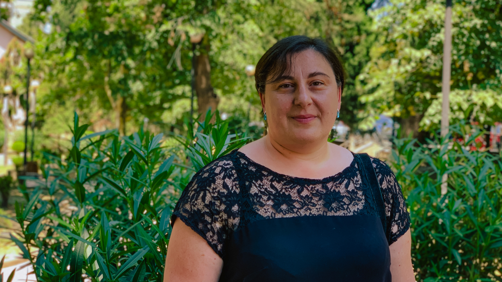 Lali Tevzadze, project coordinator at the Regional Environmental Centre for the Caucasus