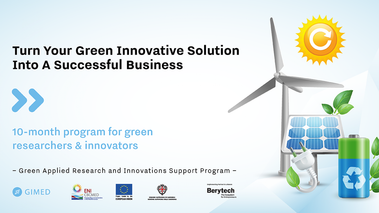 Lebanon: EU-funded GIMED launches the Green Applied Research And Innovations Support Program