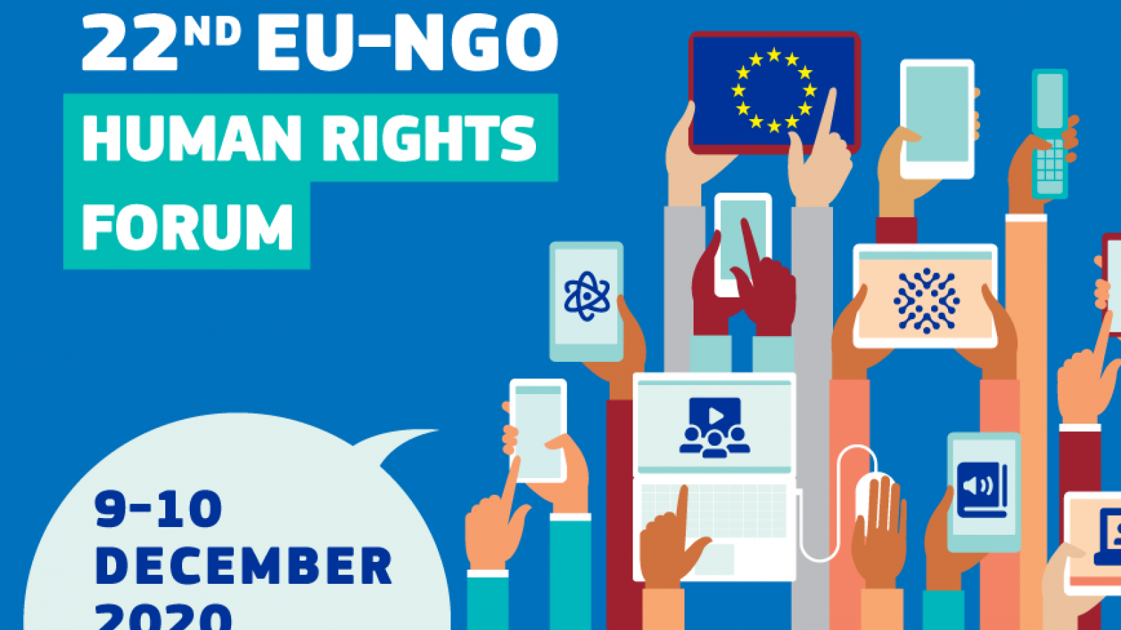 22nd EU-NGO Human Rights Forum looks into impact of new technologies on human rights