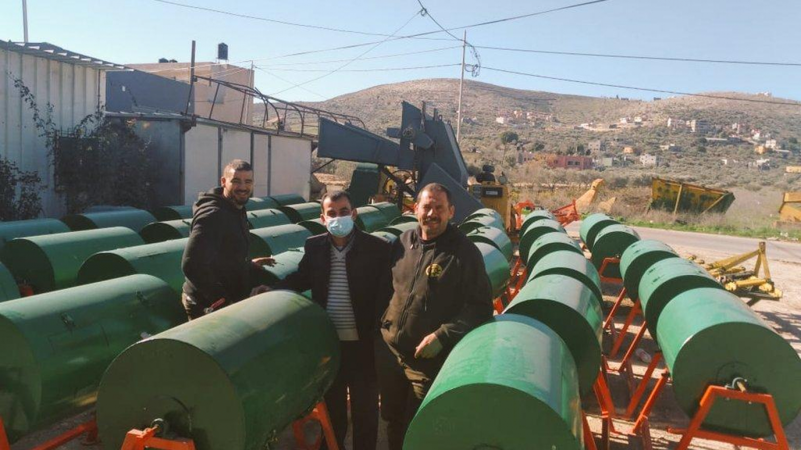 Organic waste: DECOST project to implement community composting in the municipality of Anabta, Palestine