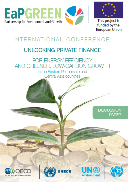 Unlocking private finance for energy efficiency and greener, low-carbon growth