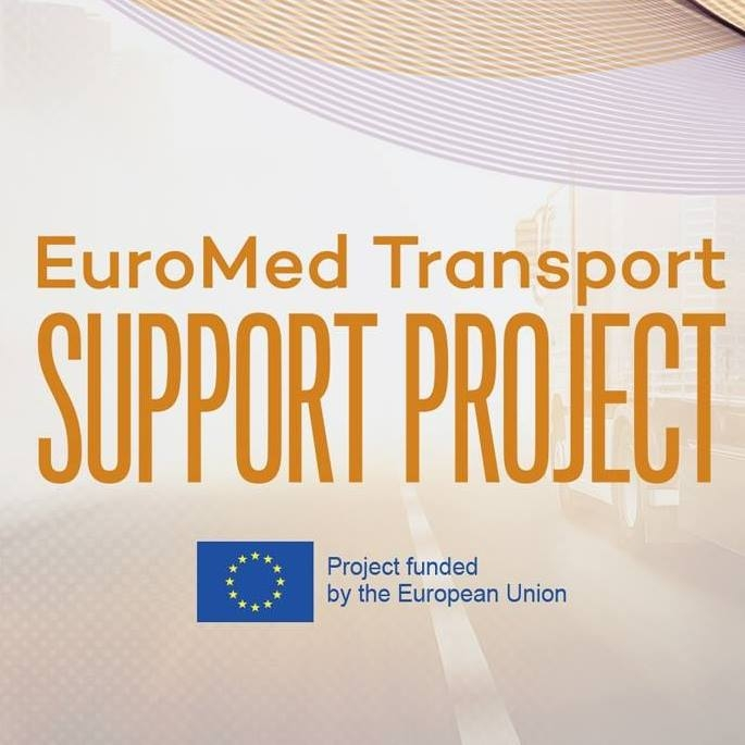Euromed Transport Support Project logo