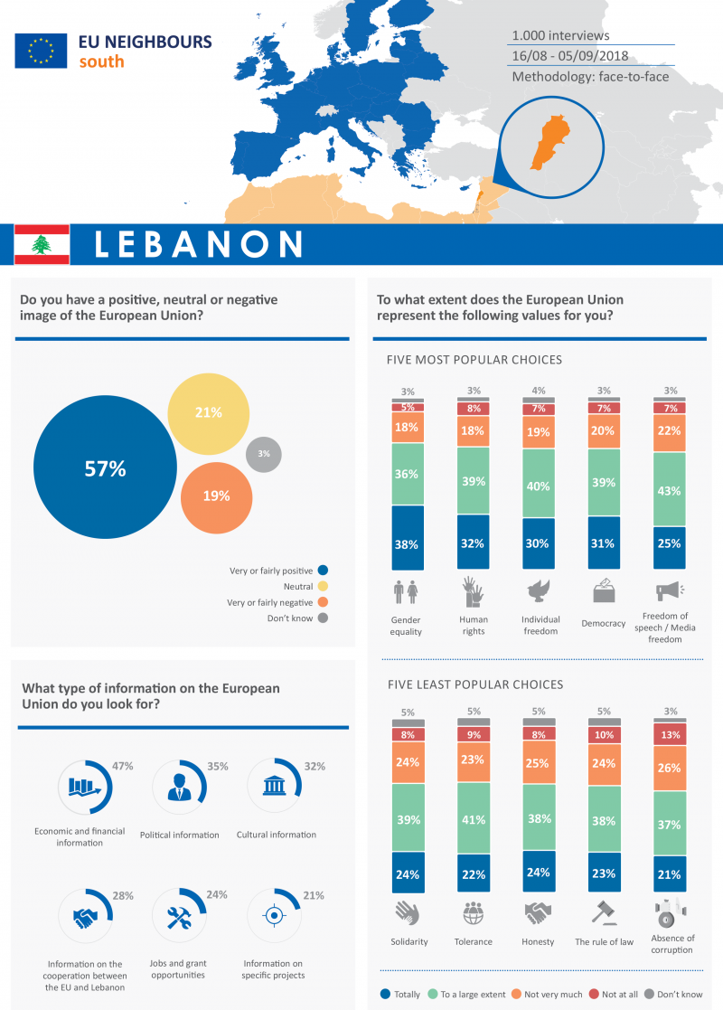 Opinion poll 2018 - Factsheet Lebanon ENG