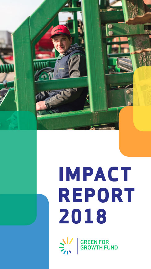 GREEN FOR GROWTH FUND: Impact report 2018