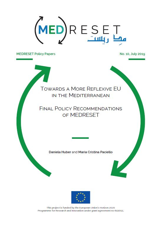 MEDRESET Policy Papers n°10 – Towards a more reflexive EU in the Mediterranean : Final policy recommendations of MEDRESET