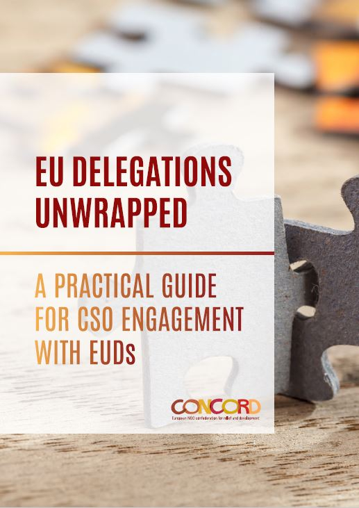 EU Delegations unwrapped : A practical guide for Civil Society Organisations