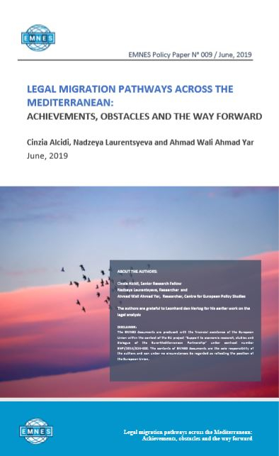EMNES Policy Paper 009 – Legal migration pathways across the Mediterranean: achievements, obstacles and the way forward