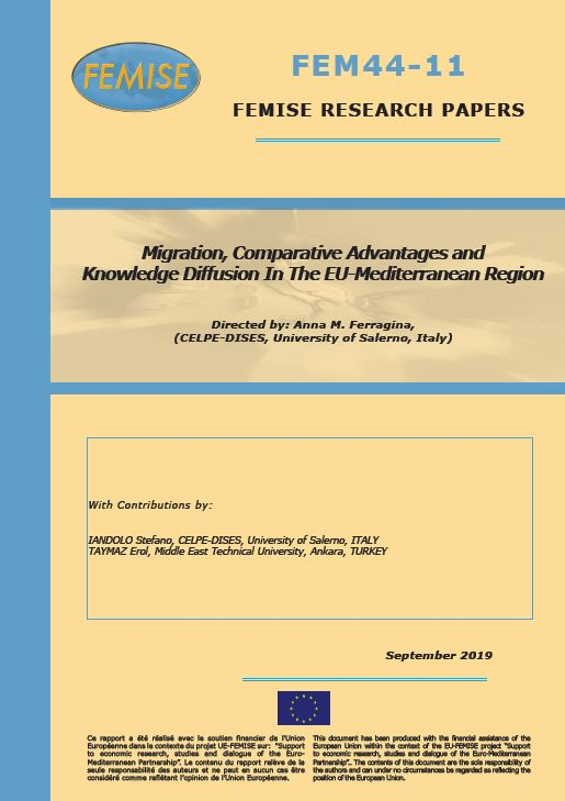 FEMISE Research Paper FEM44-11 : Migration, Comparative Advantages and Knowledge Diffusion in the EU-Mediterranean region