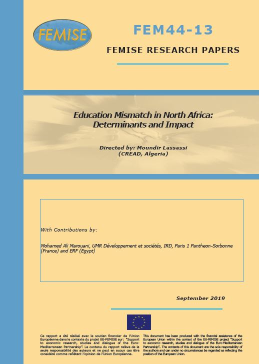 FEMISE Research Paper FEM44-13 - Education Mismatch in North Africa: determinants and impact