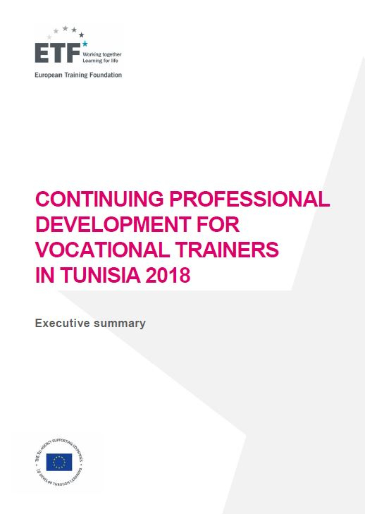 Continuing professional development for vocational trainers in Tunisia 2018