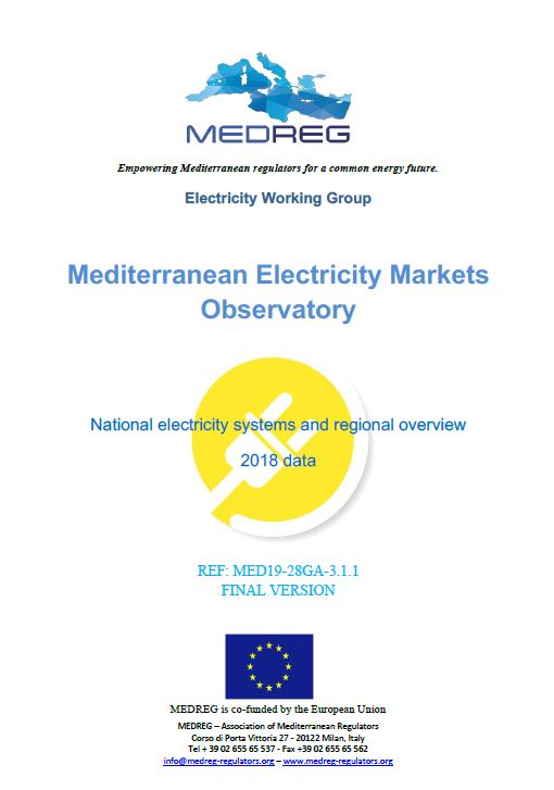 Mediterranean Electricity Markets Observatory (MEMO)