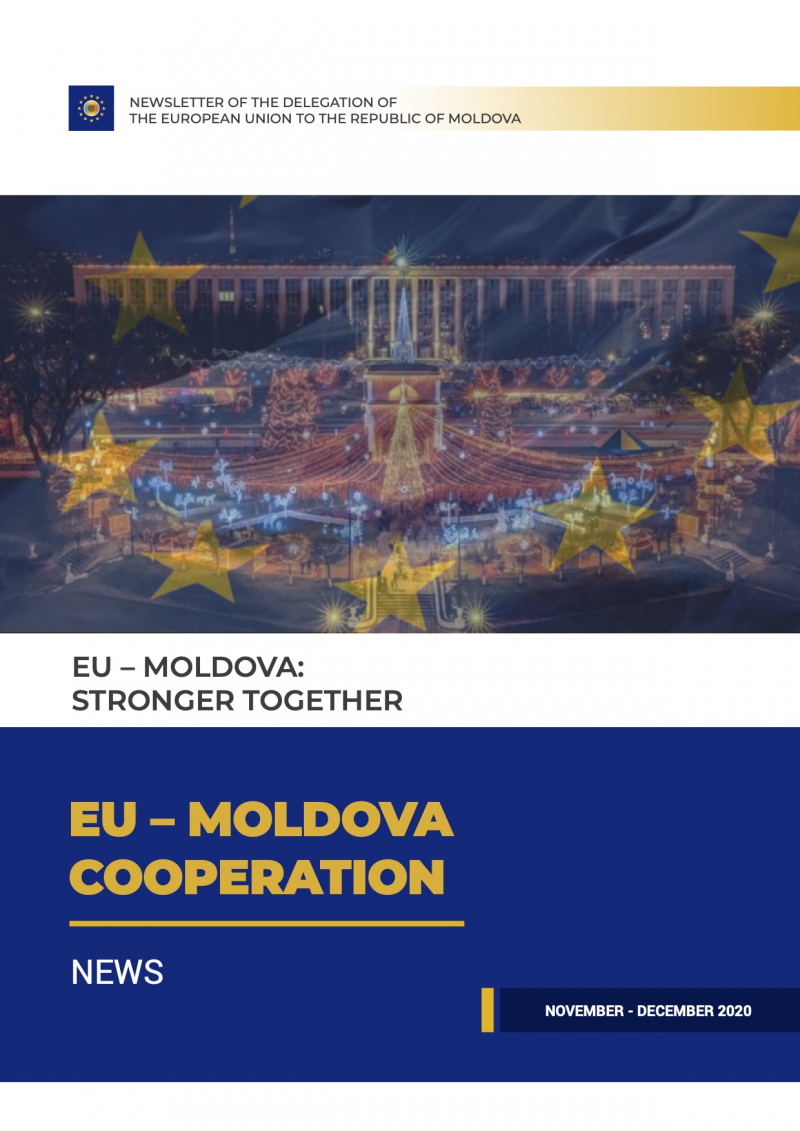 Fifth edition `EU - MOLDOVA cooperation newsletter of the Delegation of the European Union to the Republic of Moldova`